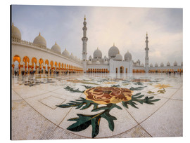 Alu-Dibond  Place of the Sheikh Zayed Grand Mosque