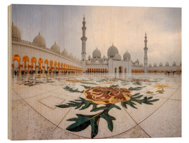 Bois  Place of the Sheikh Zayed Grand Mosque