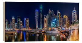 Bois  The fascination of Dubai Marina Bay