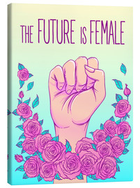 Tableau sur toile  The future is female