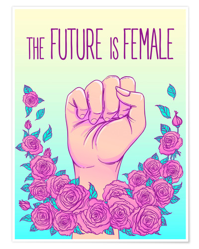 Poster The future is female
