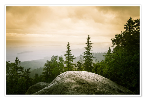 Poster Panorama of Koli National Park