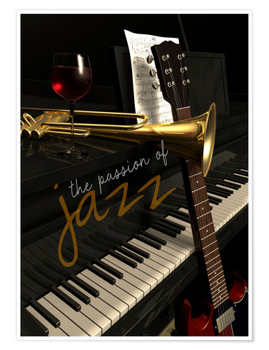 Poster Passion of Jazz