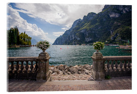 Verre acrylique  Lake Garda in the summer - Dennis Fischer