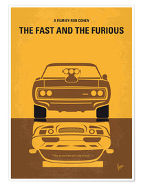 Poster Fast and Furious (anglais)