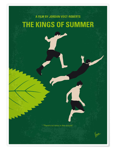 Poster The Kings of Summer (anglais)