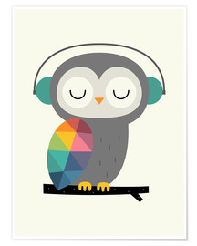 Poster  Owl Time - Andy Westface