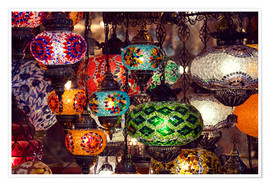 Poster  Oriental lamps