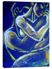 Tableau sur toile  Lovers -Night Of Passion 1 - Carmen Tyrrell
