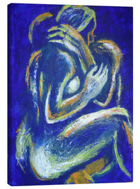 Tableau sur toile  Lovers - Night Of Passion 2 - Carmen Tyrrell