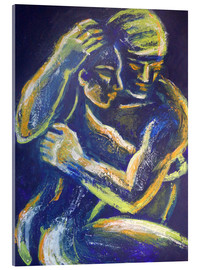Tableau en verre acrylique  Lovers -Night Of Passion 3 - Carmen Tyrrell