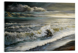Tableau en verre acrylique  Sea of fortune - Ludmila Gittel
