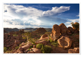 Poster  Beautiful landscape in Damaraland, Namibia, Africa - Circumnavigation