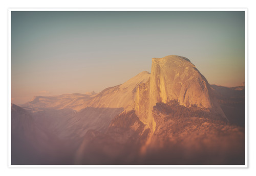 Poster Half Dome XII