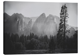 Tableau sur toile  In the Yosemite valley - Pascal Deckarm