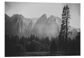 Tableau en PVC  In the Yosemite valley - Pascal Deckarm