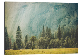 Tableau en aluminium  Yosemite Valley - Pascal Deckarm