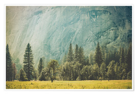 Poster Yosemite Valley