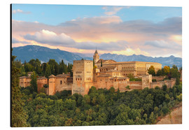 Alhambra with Comares tower