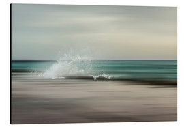 Tableau en aluminium  La Vague - Pascal Deckarm