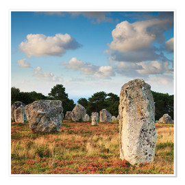 Poster  Megaliths in Carnac