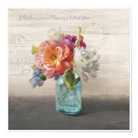 Poster French Cottage Bouquet I