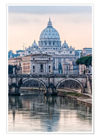 Poster  The Basilica of the Vatican