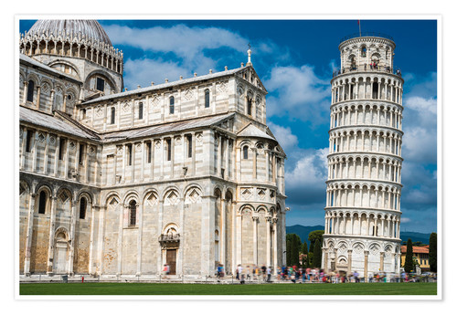 Poster Leaning Tower of Pisa