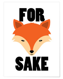 Poster  For Fox Sake - Creative Angel