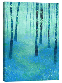 Toile  Bluebells près de Challock - Nic Squirrell