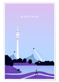 Poster  Illustration Munich - Katinka Reinke