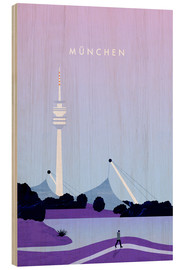 Bois  Munich illustration - Katinka Reinke