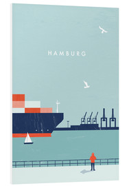 Tableau en PVC  Illustration Hamburg - Katinka Reinke
