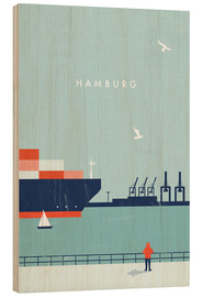 Bois  Hamburg Illustration - Katinka Reinke