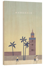 Bois  Illustration Marrakech - Katinka Reinke
