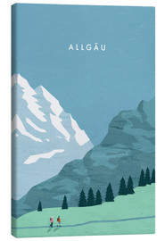 Toile  Illustration Allgäu - Katinka Reinke