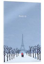 Verre acrylique  Paris Illustration - Katinka Reinke