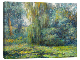 Toile  nénuphars - Blanche Hoschede-Monet