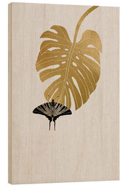 Bois  Butterfly & Monstera - Orara Studio