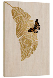 Bois  Butterfly & Palm - Orara Studio