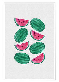 Poster Watermelon Crowd
