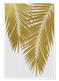 Poster Palm Leaf Gold II