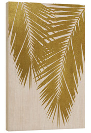 Bois  Palm Leaf Gold II - Orara Studio