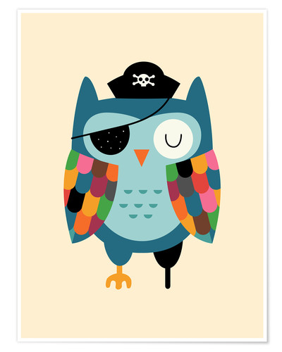 Poster Capitaine Hibou