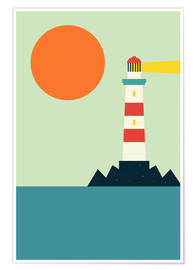 Poster  Phare - Andy Westface