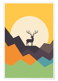 Poster  Cerf - Andy Westface
