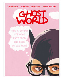 Poster Ghost World (anglais)