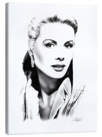 Toile  Diva hollywoodienne, Grace Kelly - Dirk Richter