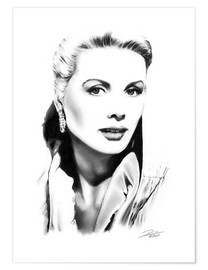 Poster  Diva hollywoodienne, Grace Kelly - Dirk Richter
