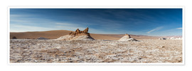 Poster  Panorama Valley of the Moon, Atacama, Chile - Circumnavigation
